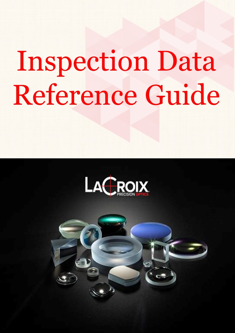 Inspection Data, optical metrology, interferometry, first article inspection